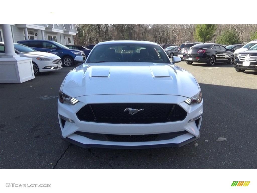 2018 Mustang GT Premium Fastback - Oxford White / Ebony photo #2