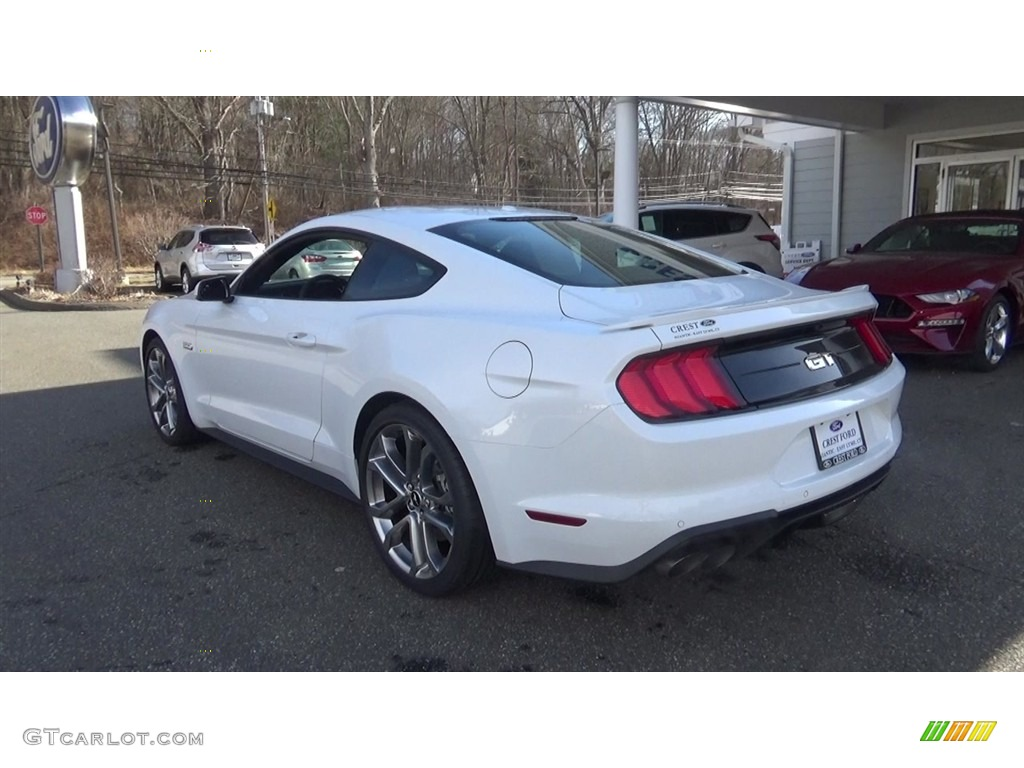 2018 Mustang GT Premium Fastback - Oxford White / Ebony photo #5