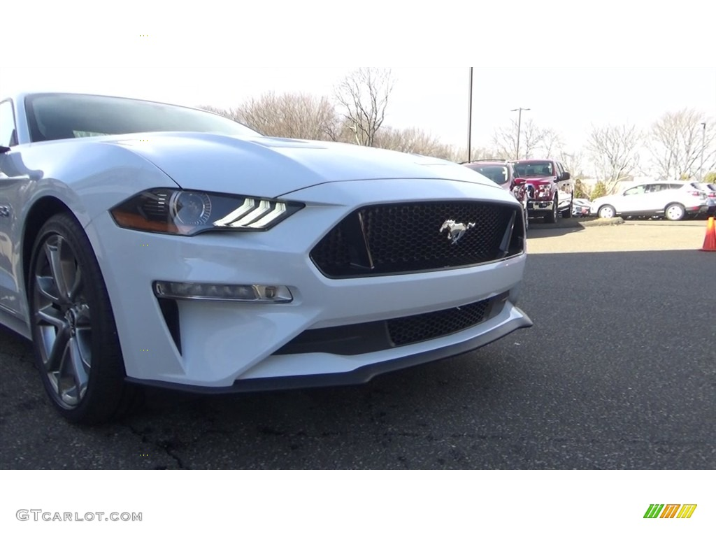 2018 Mustang GT Premium Fastback - Oxford White / Ebony photo #25