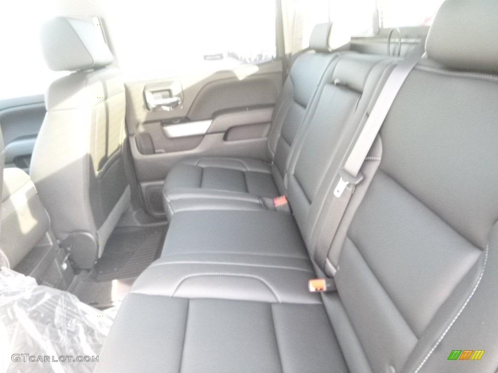 2018 Silverado 1500 LTZ Crew Cab 4x4 - Black / Jet Black photo #11