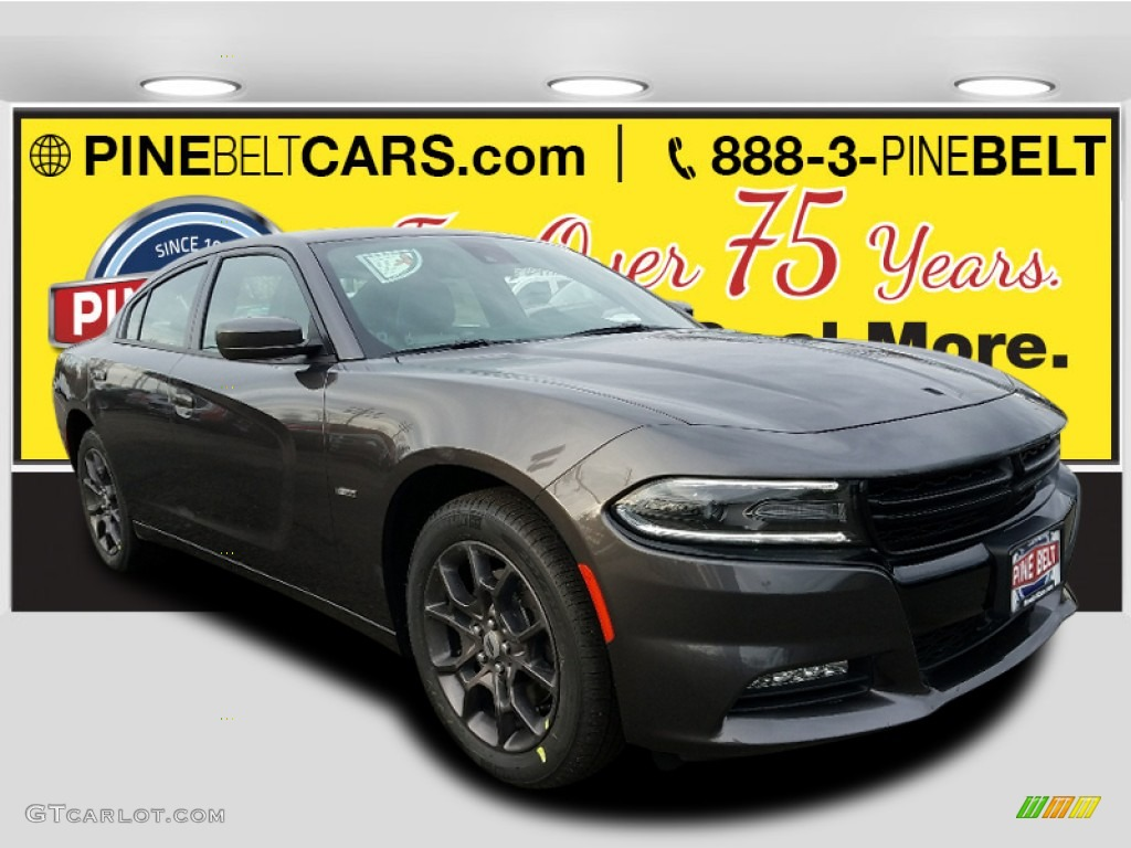 2018 Charger Gt Awd Destroyer Gray Black Photo 1