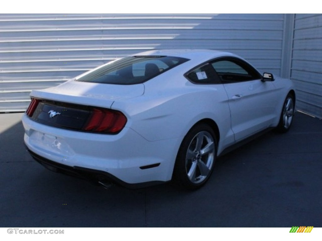2018 Mustang EcoBoost Fastback - Oxford White / Ebony photo #8