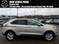 White Gold 2018 Ford Edge SEL AWD