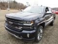 2018 Centennial Blue Metallic Chevrolet Silverado 1500 LTZ Crew Cab 4x4  photo #8