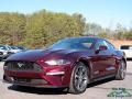 2018 Royal Crimson Ford Mustang EcoBoost Fastback  photo #1