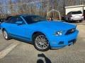 2012 Grabber Blue Ford Mustang V6 Convertible #125093876