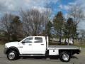 Bright White 2018 Ram 5500 Tradesman Crew Cab 4x4 Chassis