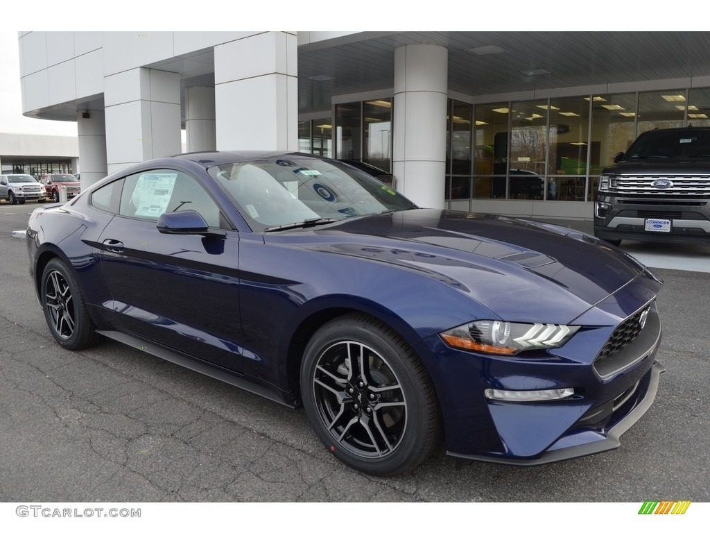 2018 Mustang EcoBoost Premium Fastback - Kona Blue / Ebony photo #1