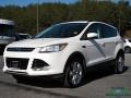 White Platinum Metallic Tri-Coat 2013 Ford Escape SEL 2.0L EcoBoost 4WD