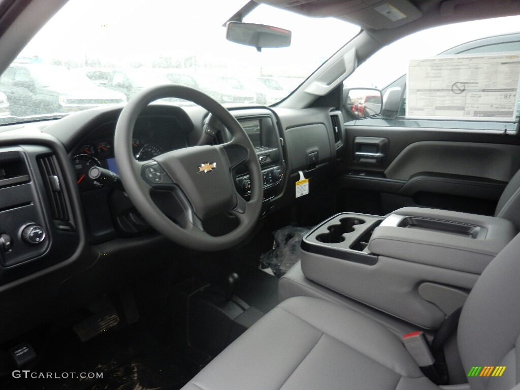 2018 Silverado 1500 WT Regular Cab 4x4 - Silver Ice Metallic / Dark Ash/Jet Black photo #7