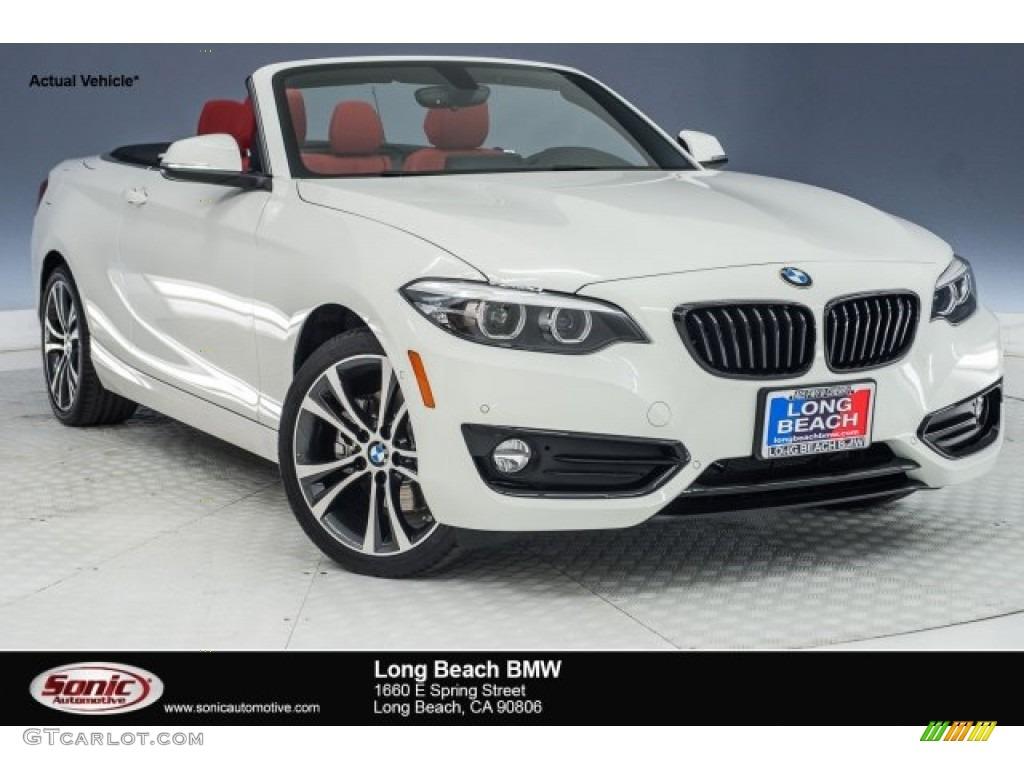 Alpine White BMW 2 Series