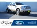 White Platinum Metallic Tri-Coat 2011 Ford F150 Lariat SuperCrew 4x4