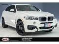 Alpine White 2018 BMW X6 xDrive50i