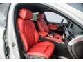 2018 X6 xDrive50i Coral Red/Black Interior