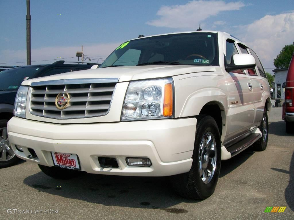 2004 white diamond cadillac escalade awd 12515966 car color galleries. Black Bedroom Furniture Sets. Home Design Ideas