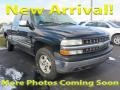 2000 Onyx Black Chevrolet Silverado 1500 LT Extended Cab 4x4  photo #1