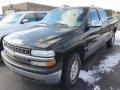 2000 Onyx Black Chevrolet Silverado 1500 LT Extended Cab 4x4  photo #6