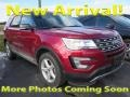 2016 Ruby Red Metallic Tri-Coat Ford Explorer XLT 4WD #125268187
