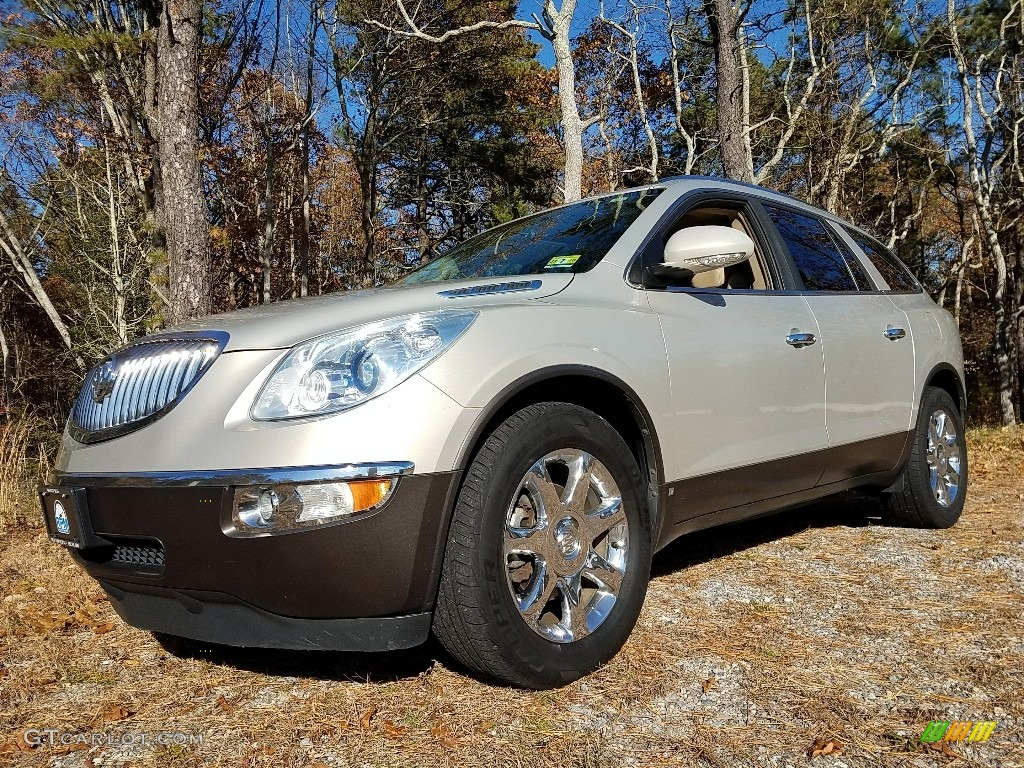 2009 Enclave CXL AWD - Gold Mist Metallic / Cocoa/Cashmere photo #1
