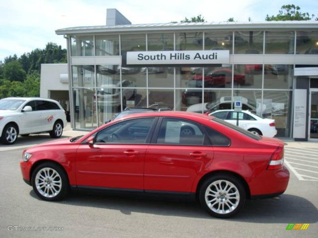 2004 passion red volvo s40 t5 12514591 car color galleries. Black Bedroom Furniture Sets. Home Design Ideas