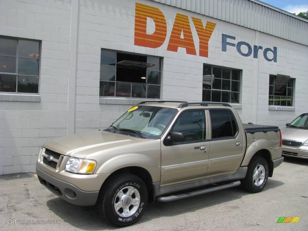2003 Harvest Gold Metallic Ford Explorer Sport Trac XLT 4x4 12508453 GTCar