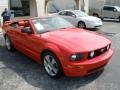 2007 Torch Red Ford Mustang GT Premium Convertible  photo #7