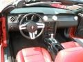 2007 Torch Red Ford Mustang GT Premium Convertible  photo #17