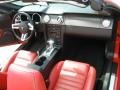 2007 Torch Red Ford Mustang GT Premium Convertible  photo #18