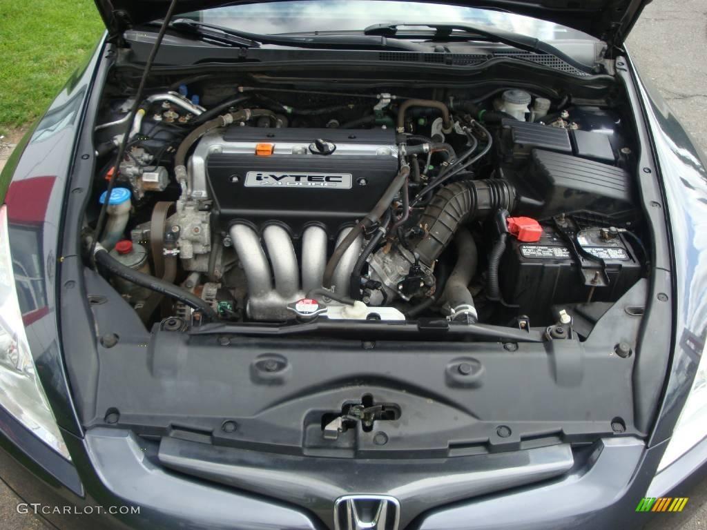 2003 honda accord ex l coupe 2 4 liter dohc 16 valve i vtec 4 cylinder engine photo 12539072. Black Bedroom Furniture Sets. Home Design Ideas