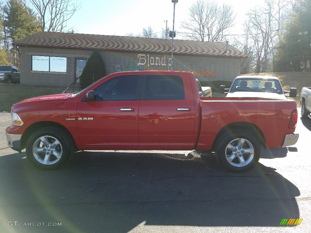 Flame Red Dodge Ram 1500