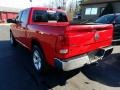 2009 Flame Red Dodge Ram 1500 SLT Crew Cab 4x4  photo #3