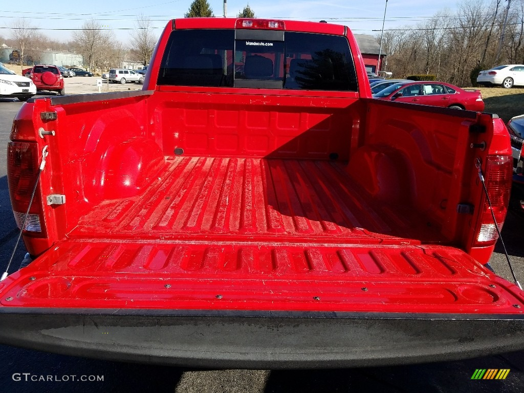 2009 Ram 1500 SLT Crew Cab 4x4 - Flame Red / Dark Slate/Medium Graystone photo #5