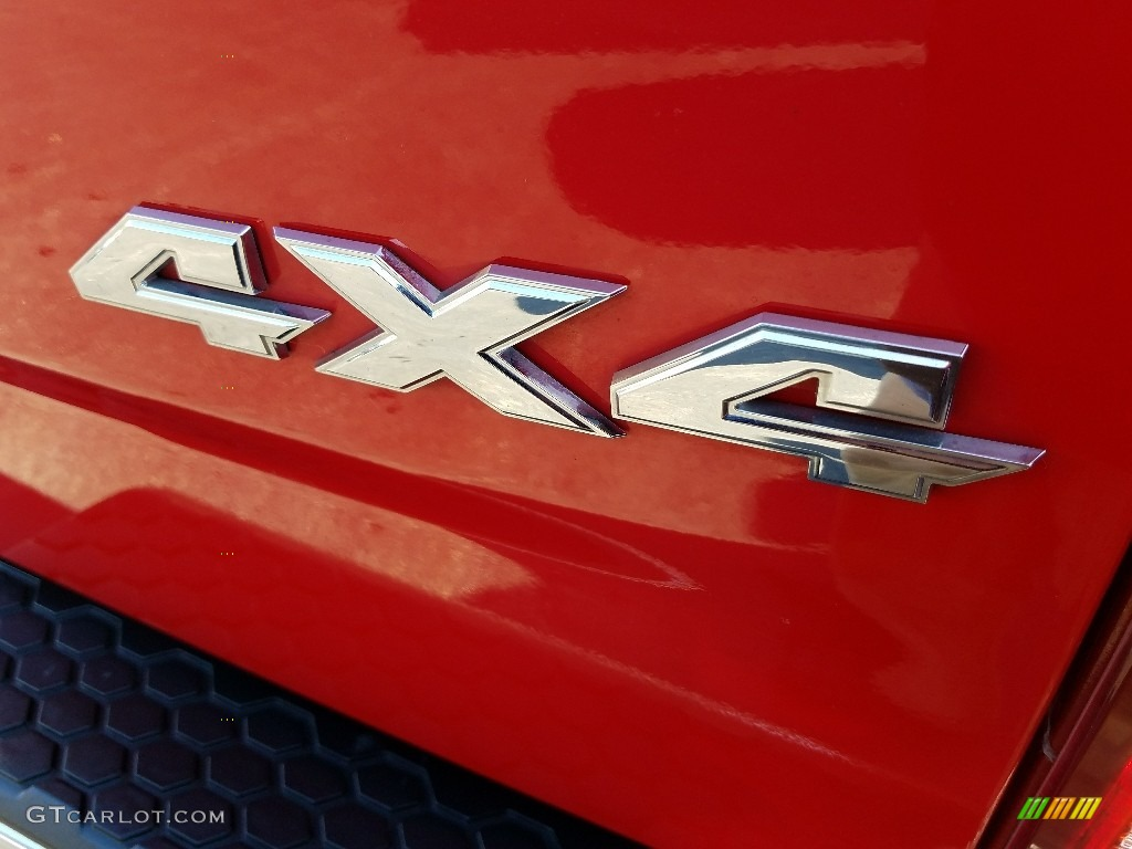 2009 Ram 1500 SLT Crew Cab 4x4 - Flame Red / Dark Slate/Medium Graystone photo #7