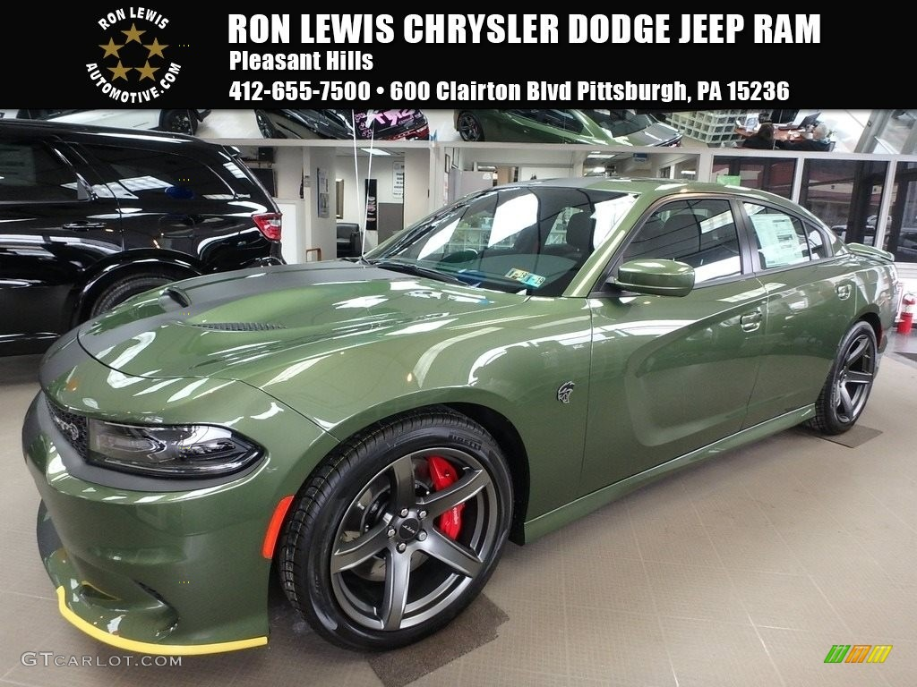 2018 F8 Green Dodge Charger Srt Hellcat 125389773 Gtcarlot Com Car Color Galleries