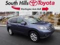 2012 Twilight Blue Metallic Honda CR-V EX-L 4WD #125429992