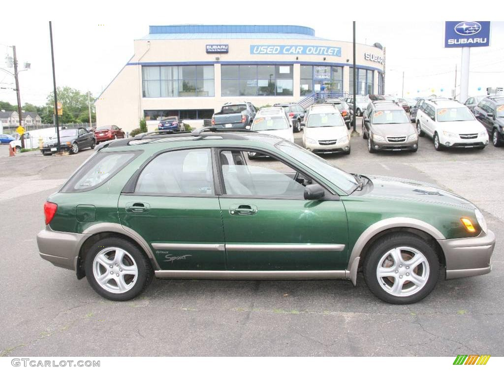 2002 savanna green subaru impreza outback sport wagon. Black Bedroom Furniture Sets. Home Design Ideas