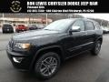 Diamond Black Crystal Pearl 2018 Jeep Grand Cherokee Limited 4x4