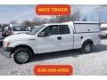 Oxford White 2012 Ford F150 XL SuperCab