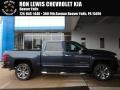 2018 Centennial Blue Metallic Chevrolet Silverado 1500 LTZ Crew Cab 4x4  photo #1