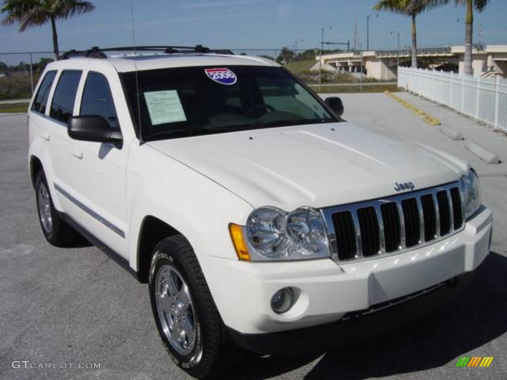 2006 Stone White Jeep Grand Cherokee Limited 4x4 1248876 Photo 7 Gtcarlot Com Car Color