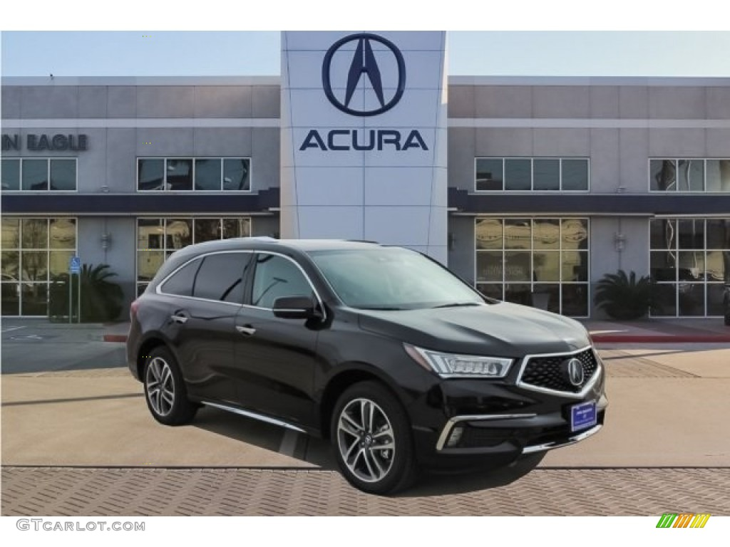 2017 Black Copper Pearl Acura Mdx Advance Sh Awd 125521196