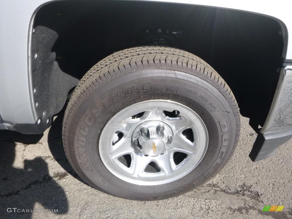 2018 Silverado 1500 WT Regular Cab 4x4 - Silver Ice Metallic / Jet Black photo #2