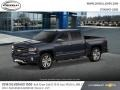2018 Centennial Blue Metallic Chevrolet Silverado 1500 LTZ Crew Cab 4x4  photo #2