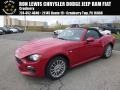 Rosso Red 2018 Fiat 124 Spider Classica Roadster