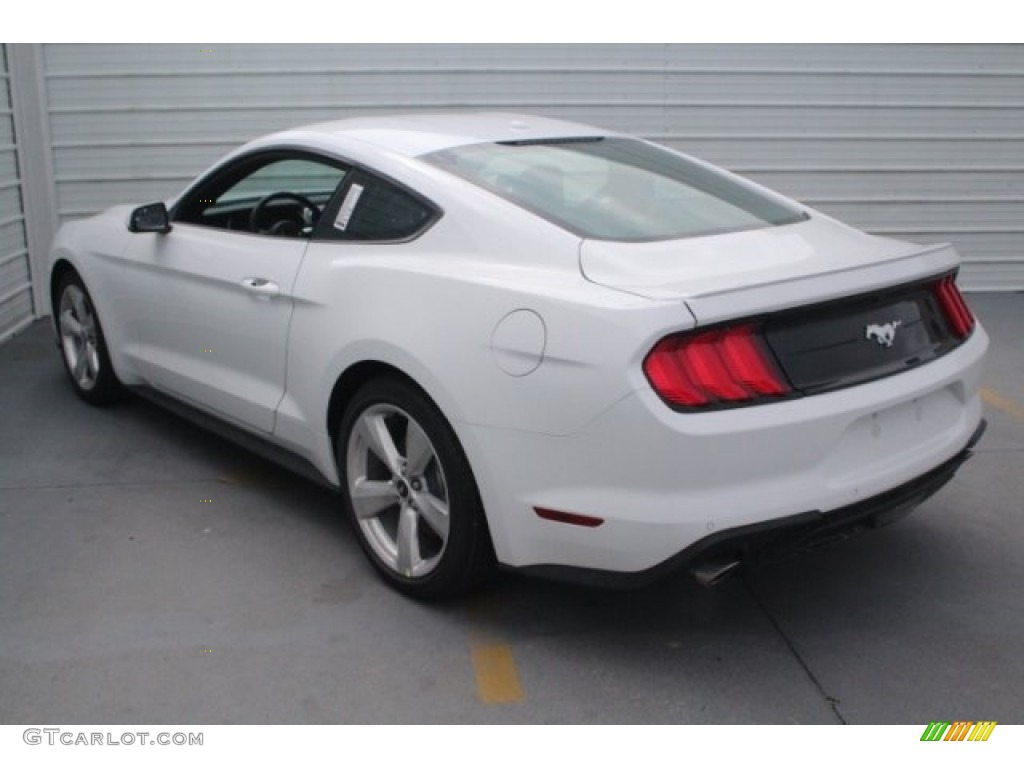 2018 Mustang EcoBoost Premium Fastback - Oxford White / Ebony photo #7