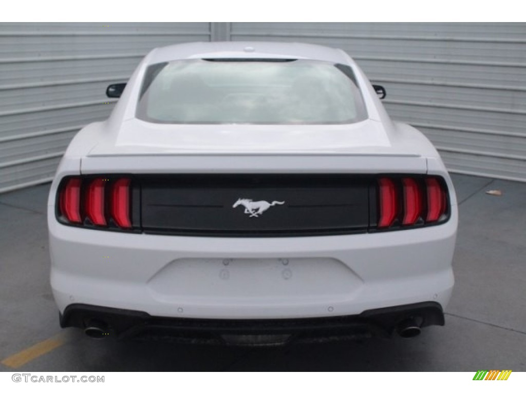 2018 Mustang EcoBoost Premium Fastback - Oxford White / Ebony photo #8