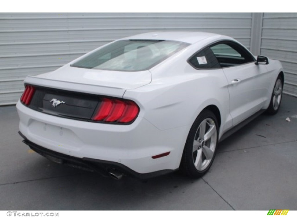 2018 Mustang EcoBoost Premium Fastback - Oxford White / Ebony photo #9