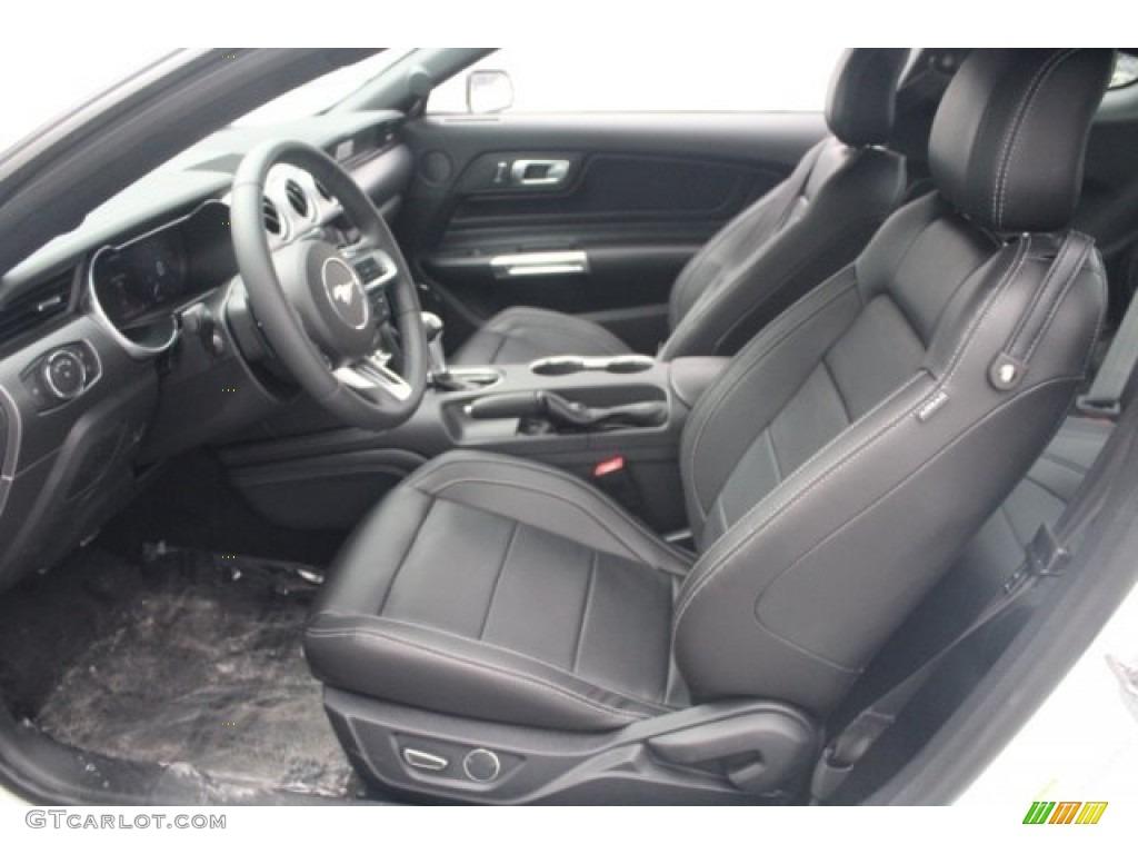 2018 Mustang EcoBoost Premium Fastback - Oxford White / Ebony photo #14
