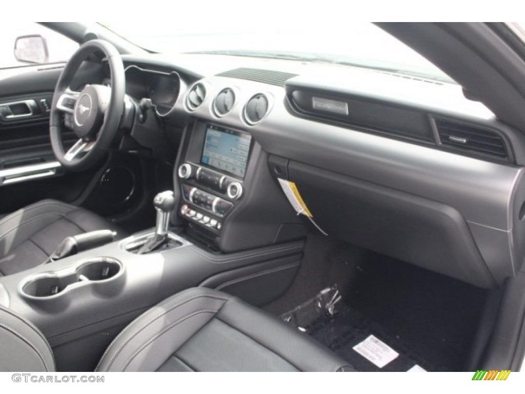 2018 Mustang EcoBoost Premium Fastback - Oxford White / Ebony photo #28