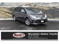 2018 Predawn Gray Mica Toyota Sienna LE  photo #1